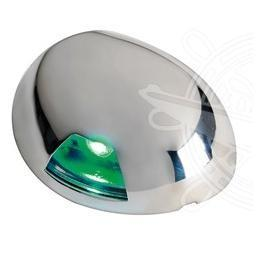 LUCE DI VIA A LED  SEA-DOG DESTRO VERDE SU PIANO 11.050.02